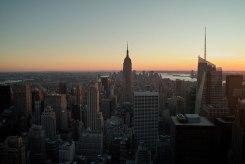 new-york-city-skyline-empire-state-brooklyn-bridge-free-stock-photo